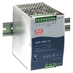 SDR Series 75-960 W Slim, Metal-Case Power Supplies