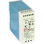 MDR Series 10-100 W Ultra-Slim, Plastic-Case Power Supplies